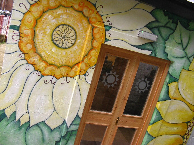 Sunflower House entrance